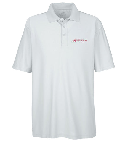 Alabama Equestrian Men's Performance Golf Shirt