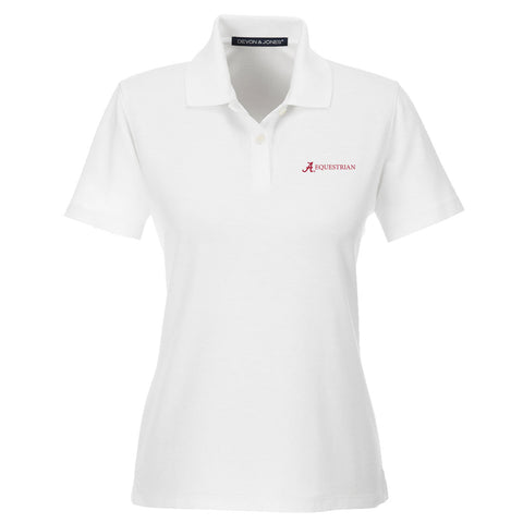 Alabama Equestrian Women's Performance Golf Shirt
