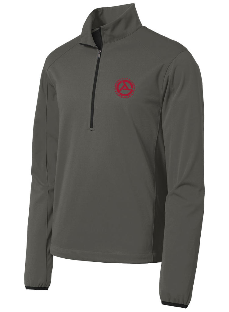 Alabama Astrobotics 1/2-Zip Soft Shell Jacket