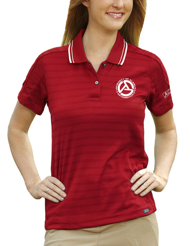 Alabama Astrobotics Women's Ambassador Golf Shirt - Deep Red