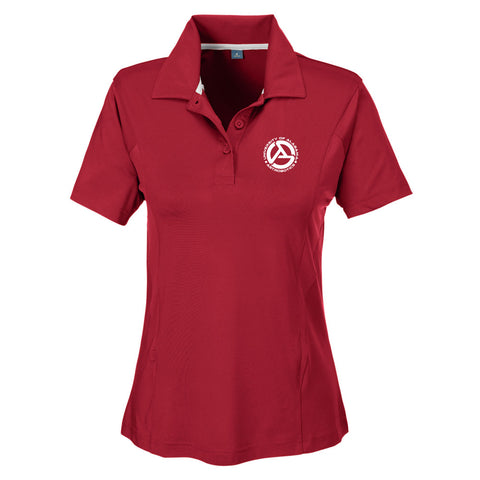 Alabama Astrobotics Women's Charger Performance Golf Shirt