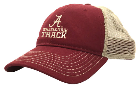 Wheelchair Track Trucker Cap