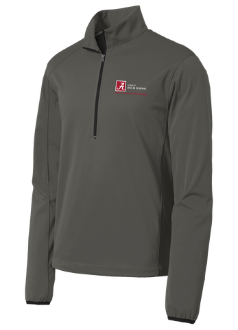 Dept. of Communicative Disorders Active 1/2-Zip Soft Shell Jacket