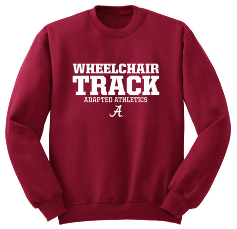 Adapted Athletics Wheelchair Track Sweat Shirt