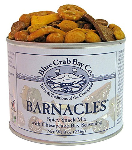 Blue Crab Bay Co. Barnacles - Gourmet Virginia Peanut Snack Mix - 8oz. tin