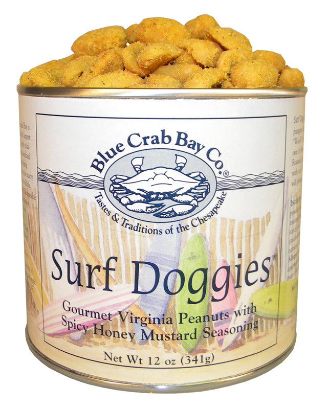 Blue Crab Bay Co. Gourmet Virginia Peanuts - 12oz. tins - Available in three flavors!