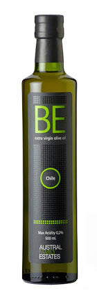 BE Extra Virgin Olive Oil - Estate Bottled in Chile - Cold Extraction (17FL.OZ./500ML) - Austral Family Estates