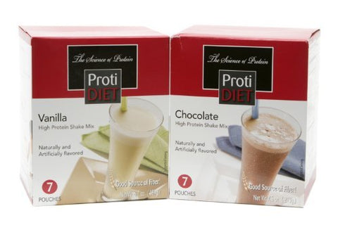 Proti Diet high protein shakes