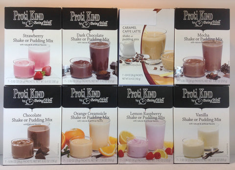 Bariatric - Proti Kind - FULL Case (40 boxes) Shake/Pudding Mix - 280 servings