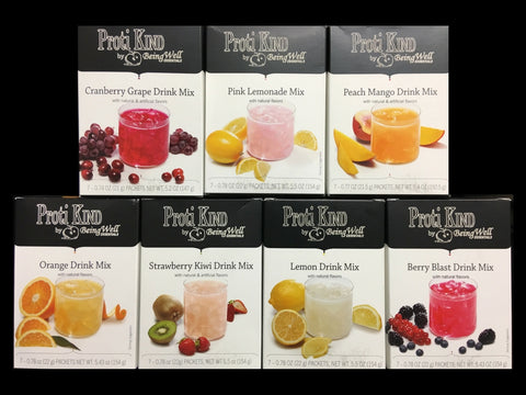 Bariatric - Powdered Drink Mix - Proti Kind - All Flavors - 7 servings