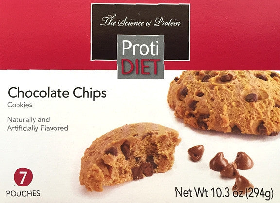 ProtiDiet Cookies - All Varieties - 7 servings per box