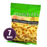 Proti Care Crunchy O's Sour Cream & Onion Snacks - 12g protein - 130 calories