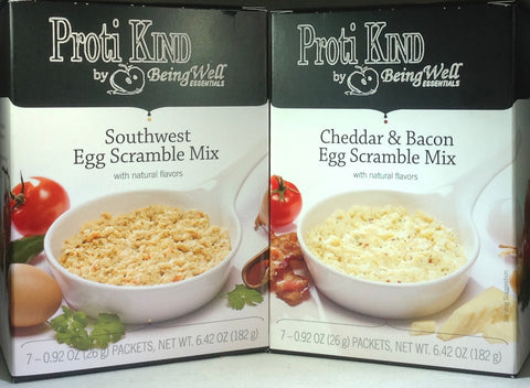 NEW Proti Kind Egg Scramble Mix - Two Flavor Options!
