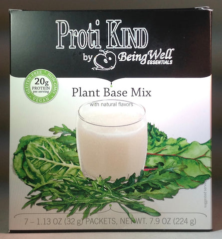 Proti Kind - Very Low Carb PLANT (pea, hemp, & rice protein)  Base Mix - 20g protein - 110 calories