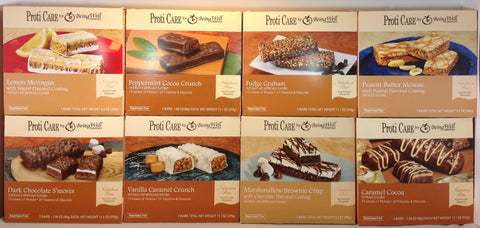 Proti Care Protein Bars with 10-15g protein