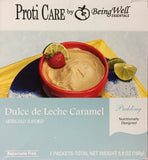 Proti Care Meal Replacement Pudding - Aspartame Free - 7 servings - 90 calories -15g protein