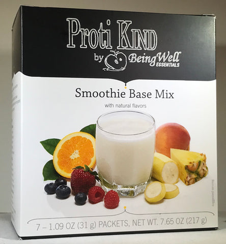 Proti Kind - Very Low Carb Smoothie Base Mix- Proti- VLC - 20g protein - SWEETENED WITH STEVIA - 110 calories