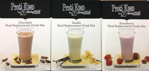 Bariatric - Proti Kind - Very High Protein - VHP - Meal Replacement Drink - All Flavors - 7 servings
