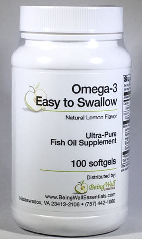 OMEGA-3 'EASY TO SWALLOW' soft gels