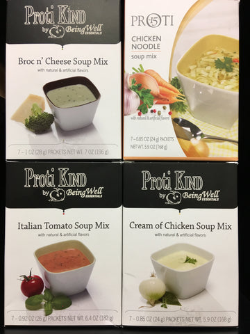 Proti Kind  Variety Soup Bundle 28 servings - 4 flavors