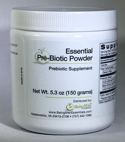 ESSENTIAL PRE-biotic Powder - 150 grams (5.3oz.) -  FREE US SHIPPING