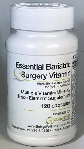 ESSENTIAL BARIATRIC SURGERY VITAMIN (120 Capsules)