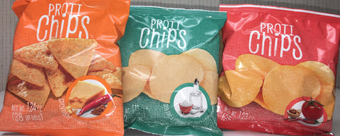 Proti Kind Proti Chips 14g protein - 120-130 calories - NOW 5 FLAVORS!