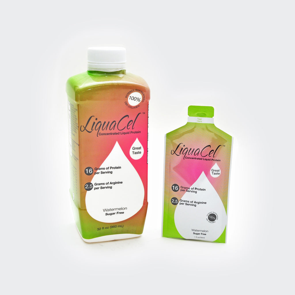 LiquaCel Concentrated Liquid Protein - 16grams Protein - 2.5grams Arginine - 90 Calories
