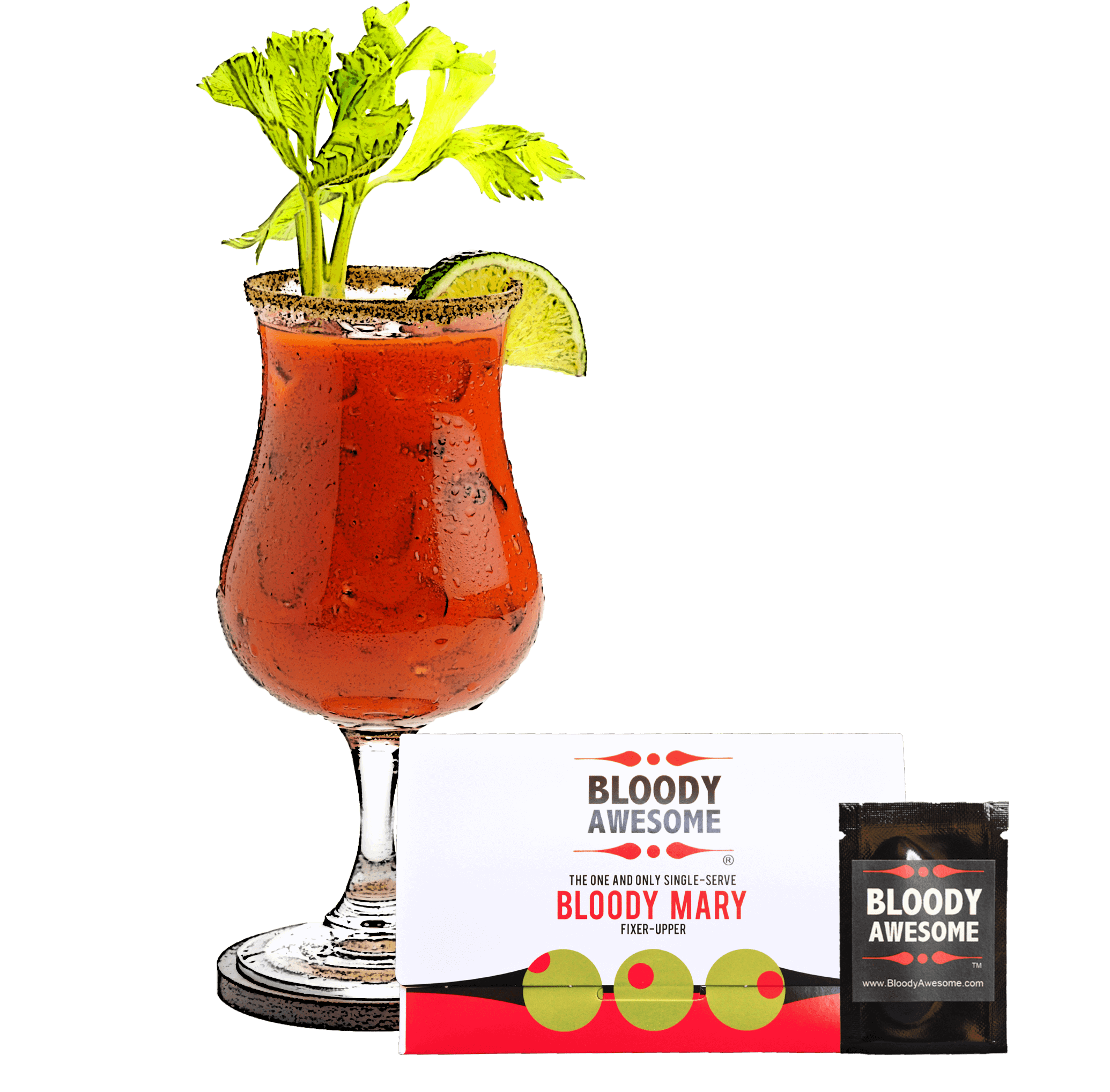 Bloody Mary Fixer-upper Spice Packet