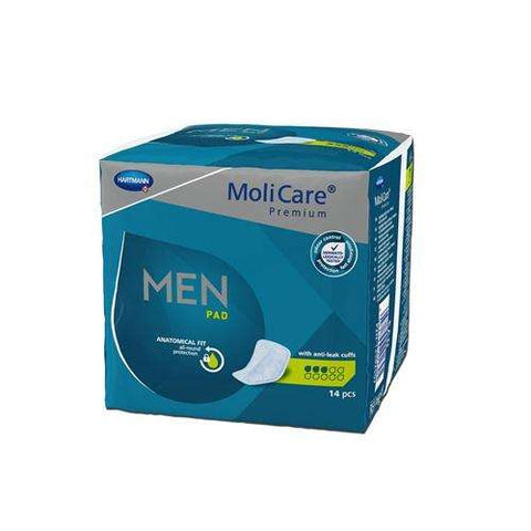 Molicare Premium Pads for Men, 168603 14/pack