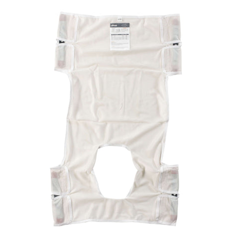 Drive 13026 Patient Lift Sling, Polyester Mesh with Commode Cutout - Advanced Healthmart