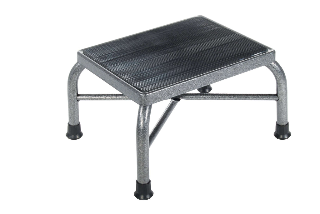 Drive 13037-1sv Heavy Duty Bariatric Footstool with Non Skid Rubber Platform - Advanced Healthmart