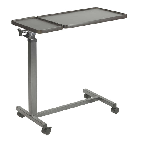 Drive 13068BV Multi-Purpose Tilt-Top Split Overbed Table - Advanced Healthmart