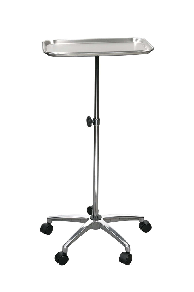 "Drive 13071 Mayo Instrument Stand with Mobile 5"" Caster Base - Advanced Healthmart"