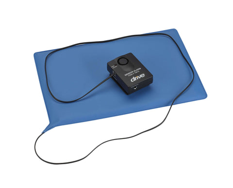 "Drive 13605 Pressure Sensitive Bed Chair Patient Alarm, 10"" x 15"" Chair Pad - Advanced Healthmart"