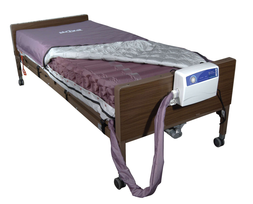 Drive 14027 Med Aire Low Air Loss Mattress Replacement System with Alternating Pressure - Advanced Healthmart