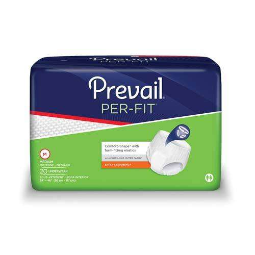 "Prevail Per-Fit Protective Underwear, Medium 34""-44"" PF512 pack/20"