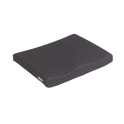 "Drive 14881 Molded General Use 1 3/4"" Wheelchair Seat Cushion - Advanced Healthmart"