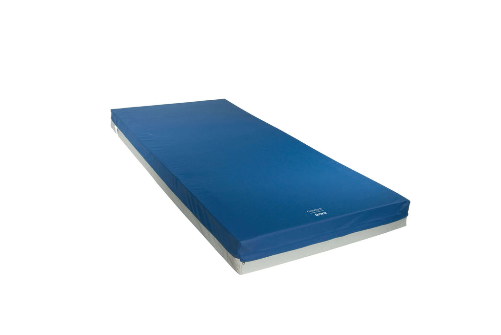 "Drive 15877 Gravity 7 Long Term Care Pressure Redistribution Mattress, Elevated Perimeter, 76"" - Advanced Healthmart"