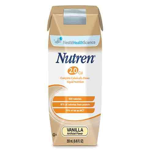 Nestle 9871616230 NUTREN 2.0 UNFLAVORED 250ML 24/cs - Advanced Healthmart