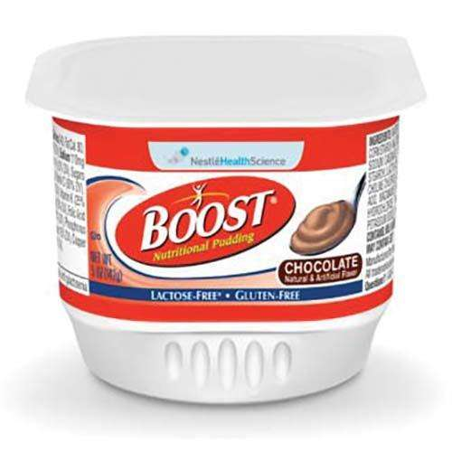 Nestle 9460300 BOOST PUDDING CHOCOLATE 48/cs - Advanced Healthmart