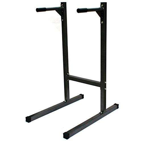 KLB Sport Heavy Duty Dip Stand Parallel Bar Station, 500lb Capacity - Advanced Healthmart
