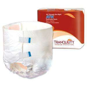 Tranquility 2187 ATN -All Through The Night Disposable Briefs  XL 12/pk