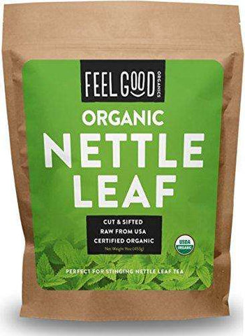 100% Raw Organic Nettle Leaf - Cut & Sifted - 16oz Resealable Bag - Advanced Healthmart
