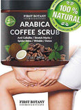 100% Organic Arabica Coffee Scrub 12 oz. with Coconut and Shea Butter - Advanced Healthmart