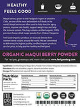 100% Raw Organic Maqui Powder - 4oz Resealable Bag - Advanced Healthmart