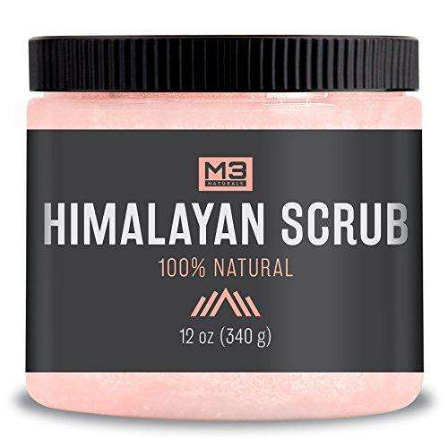 Premium Himalayan Scrub with Lychee Sweet Almond Oil 12 oz
