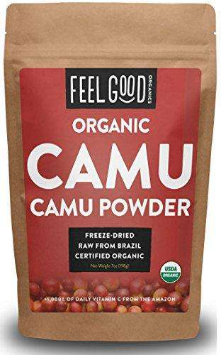 100% Raw Organic Camu Camu Powder - 7oz Resealable Bags - Advanced Healthmart