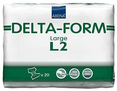 Abena Delta-Form L2 Adult Brief, Large 20/pk, 308863 - Advanced Healthmart
