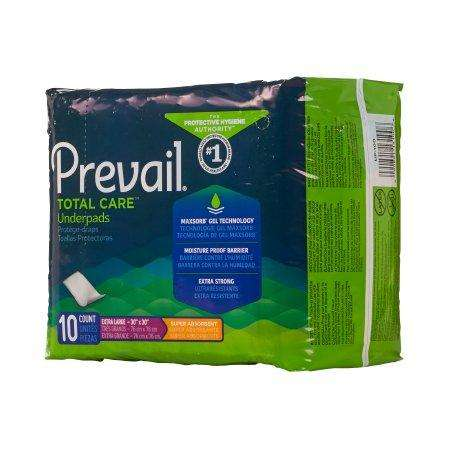 Prevail UP-100 30x30 Night Time Disposable Underpads by First Quality